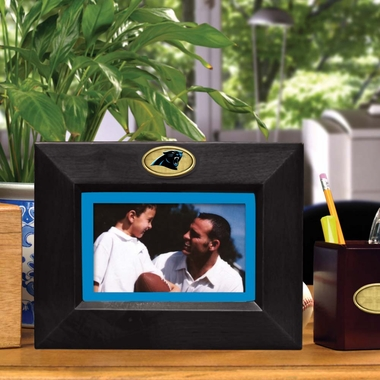Carolina Panthers BLACK Landscape Picture Frame