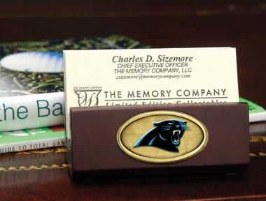 Carolina Panthers Business Card Holder