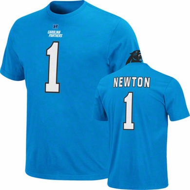 Carolina Panthers Cam Newton Eligible Receiver Player T-Shirt