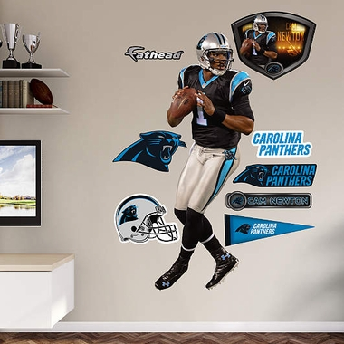 Carolina Panthers Cam Newton Fathead Wall Graphic