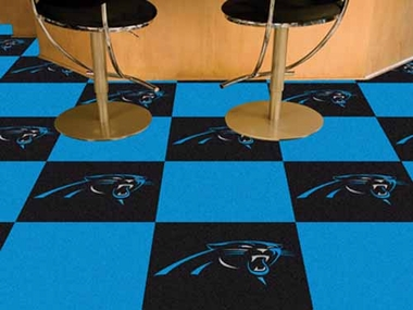 Carolina Panthers Carpet Tiles