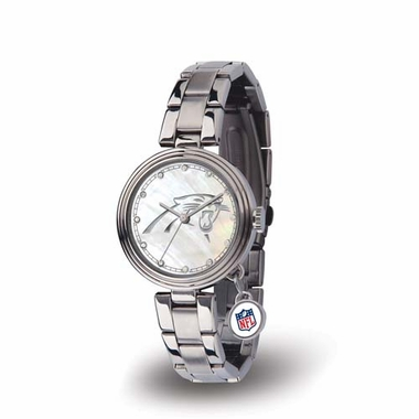 Carolina Panthers Charm Womens Watch