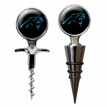 Carolina Panthers Corkscrew and Stopper Gift Set