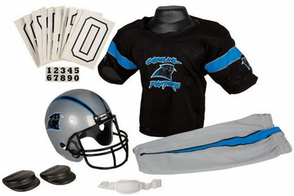 Carolina Panthers Deluxe Youth Uniform Set