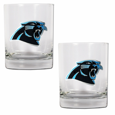 Carolina Panthers Double Rocks Set