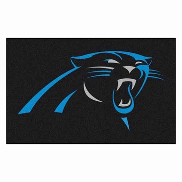 Carolina Panthers Economy 5 Foot x 8 Foot Mat