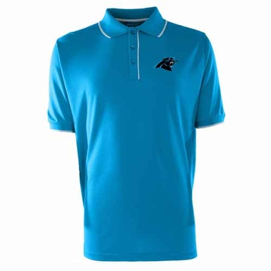 Carolina Panthers Mens Elite Polo Shirt (Color: Aqua)
