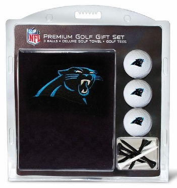 Carolina Panthers Embroidered Towel Gift Set