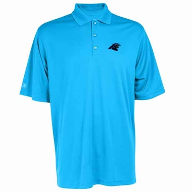 Carolina Panthers Mens Exceed Polo (Team Color: Aqua)