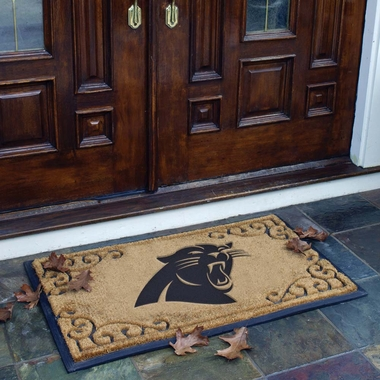 Carolina Panthers Exterior Door Mat