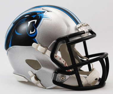 Carolina Panthers Football Helmet - Mini Replica