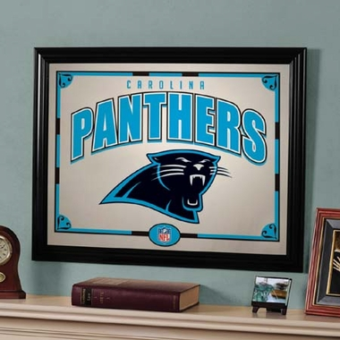 Carolina Panthers Framed Mirror