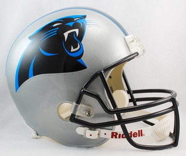 Carolina Panthers Full Sized Replica Helmet