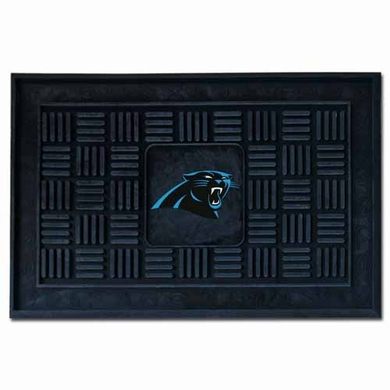 Carolina Panthers Heavy Duty Vinyl Doormat