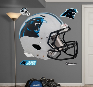 Carolina Panthers Helmet Fathead Wall Graphic