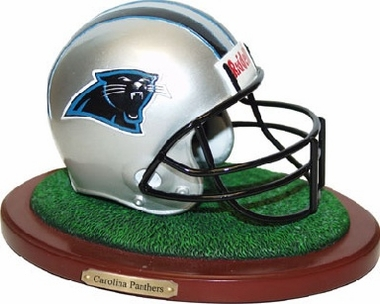 Carolina Panthers Helmet Figurine