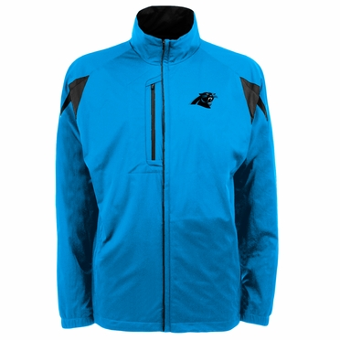 Carolina Panthers Mens Highland Water Resistant Jacket (Team Color: Aqua)