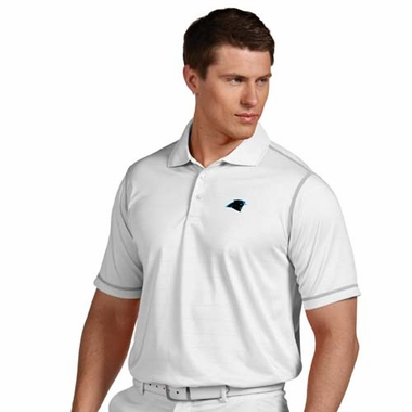 Carolina Panthers Mens Icon Polo (Color: White)