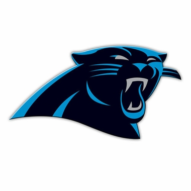 "Carolina Panthers 12"" Logo Car Magnet"