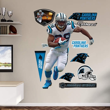 Carolina Panthers Jonathan Stewart Fathead Wall Graphic