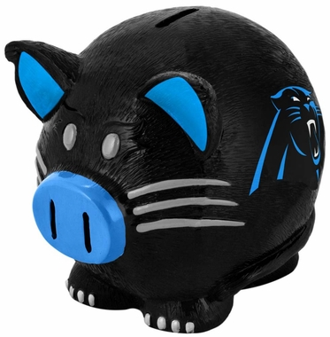 Carolina Panthers Piggy Bank - Thematic Large