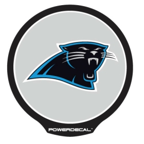Carolina Panthers Light Up Power Decal