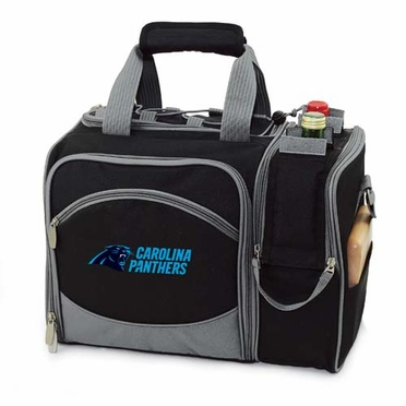 Carolina Panthers Malibu Picnic Cooler (Black)