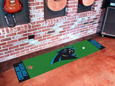 Carolina Panthers Putting Green Mat