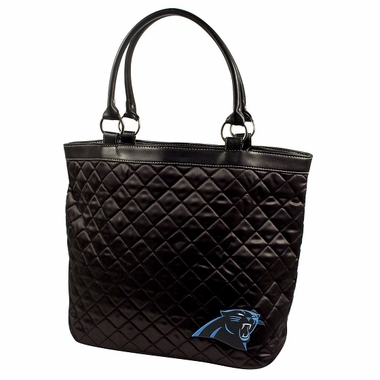 Carolina Panthers Quilted Tote