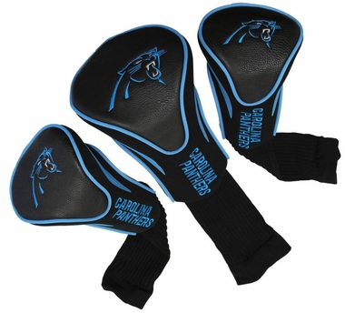 Carolina Panthers Set of Three Contour Headcovers