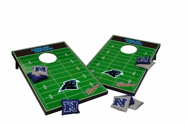 Carolina Panthers Tailgate Toss Cornhole Beanbag Game