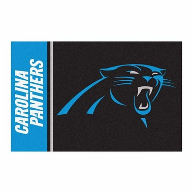 Carolina Panthers Uniform Inspired 20 x 30 Rug