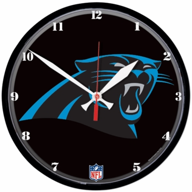 Carolina Panthers Wall Clock