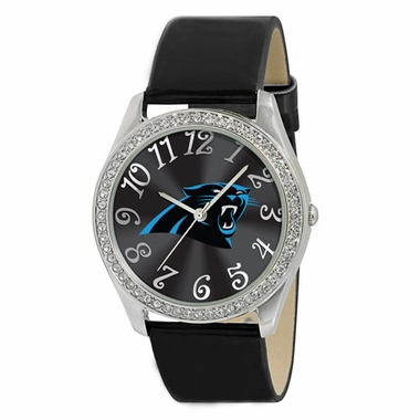 Carolina Panthers Women's Glitz Watch