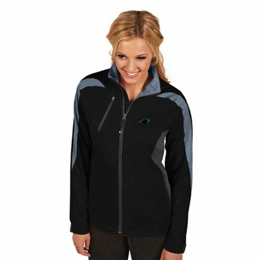 Carolina Panthers Womens Discover Jacket (Color: Black)
