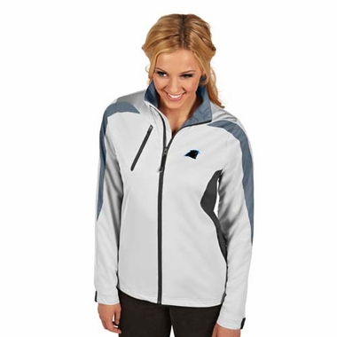 Carolina Panthers Womens Discover Jacket (Color: White)