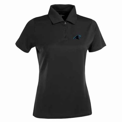 Carolina Panthers Womens Exceed Polo (Team Color: Black)