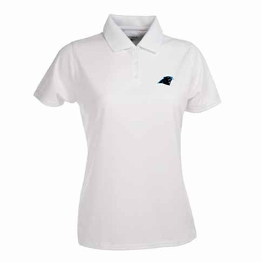 Carolina Panthers Womens Exceed Polo (Color: White)