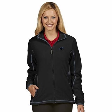Carolina Panthers Womens Ice Polar Fleece Jacket (Team Color: Black)