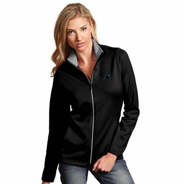 Carolina Panthers Womens Leader Jacket (Color: Black)