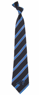 Carolina Panthers Woven Poly 1 Necktie