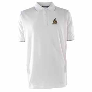 Central Florida Mens Elite Polo Shirt (Color: White) - Medium