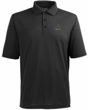 Central Florida Mens Pique Xtra Lite Polo Shirt (Team Color: Black)