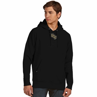 Central Florida Mens Signature Hooded Sweatshirt (Team Color: Black)