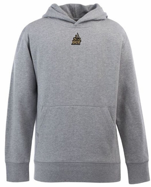 Central Florida YOUTH Boys Signature Hooded Sweatshirt (Color: Gray)
