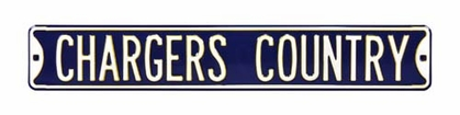Chargers Country Street Sign