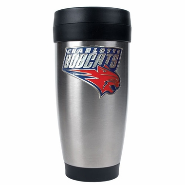 Charlotte Bobcats 16 oz. Thermo Travel Tumbler