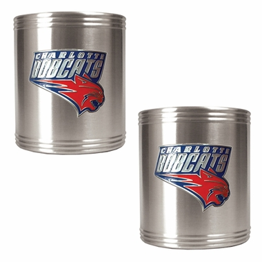 Charlotte Bobcats 2 Can Holder Set