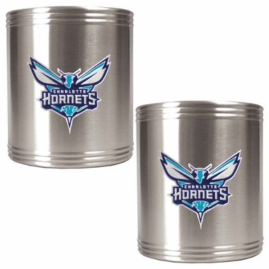Charlotte Hornets 2 Can Holder Set