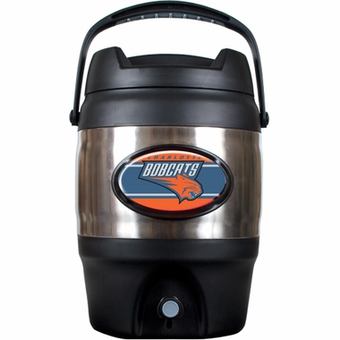 Charlotte Bobcats 3 Gallon Stainless Steel Jug